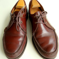 Shoes I Have Loved: Vintage Bass Weejuns 2 Tie Moccasins
