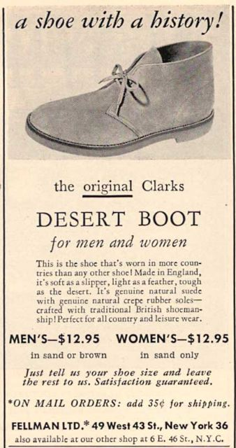 clarks originals désert boot