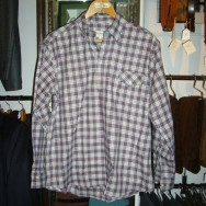 John Simons Plaid Button Down Popover