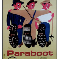 Vintage 1950s Paraboot Poster
