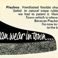 1960s Town Magazine Ad for Huttons Playboys