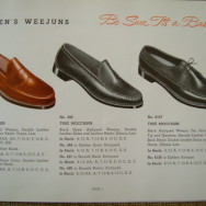 Bass 1958 Weejuns Catalog