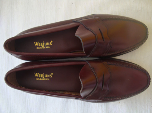 f02553574df For Sale  Deadstock 1960s Bass Weejuns N734 Boxed (and the REAL ...