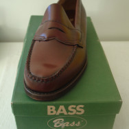 For Sale: Deadstock 1960s Bass Weejuns N734 Boxed (and the REAL Definitive History of Bass Weejuns!)