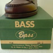 Vintage Deadstock 1960s Bass Weejuns N734