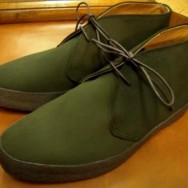 Sanders Playboy Chukkas in Loden Green (From John Rushton Shoes – Now In Stock)