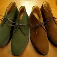 Loden Green and Stead Snuff Suede Playboys