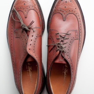 1960s Deadstock Keith Highlanders Long Wing Brogues