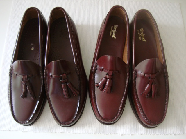 Deadstock Bass Weejuns  Tassel Loafers 1970s   1980s - The Weejun ... 6ad017767