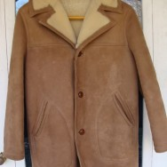 The Ivy Shearling Car Coat. Sawyer of Napa for LL Bean circa 1969.