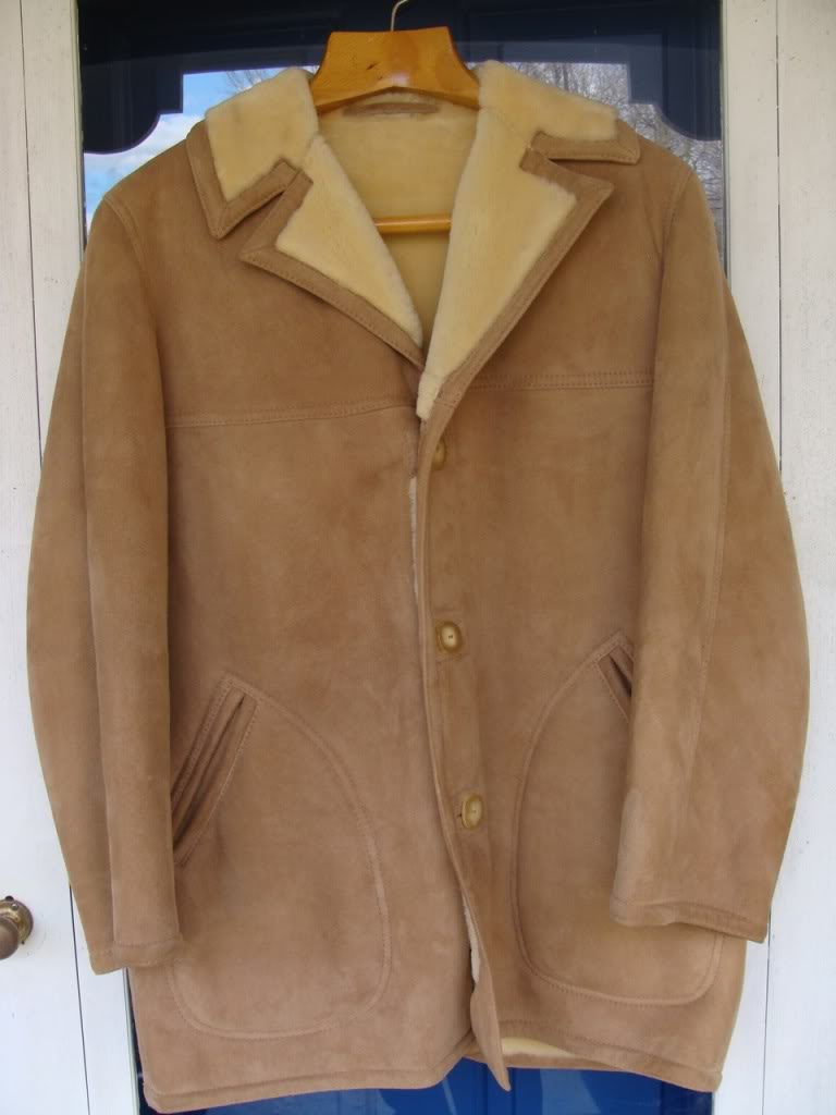 The Ivy Shearling Car Coat. Sawyer of Napa for LL Bean circa 1969 ...