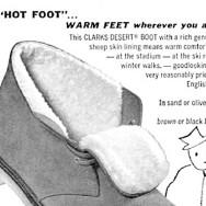 Clarks Shearling Desert Boots