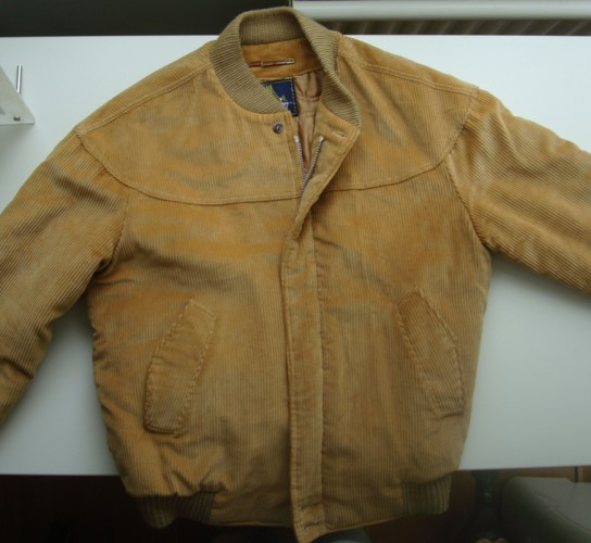 1960s Derby of San Francisco Wide Wale Cord Bomber