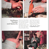 Gant – The Hugger – Caravan Striped Oxford – 1968